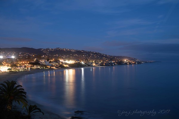 February 7 - Blue Hour in Laguna Beach. I'm always thankful for time for quiet reflection...  #CY365 - Scenery/Calm/Stillness