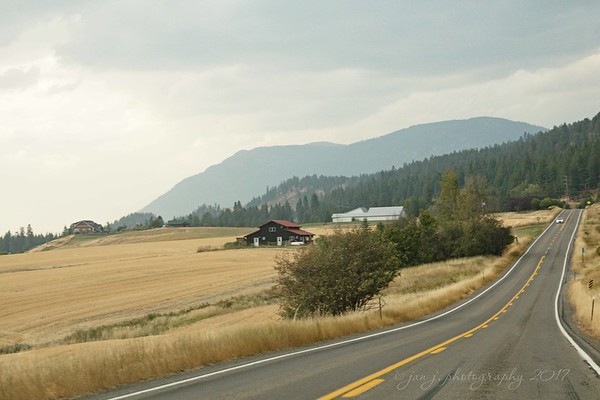 September 9 - Thankful to be on the road once again...<br /> <br /> Porthill, ID