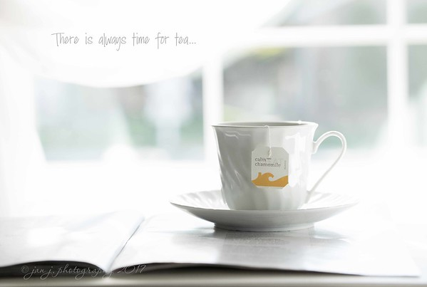 August 4 - I'm always thankful for Tea Time...<br /> <br /> #CY365 - A Favorite Beverage