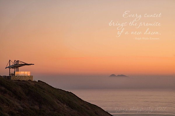 November 26 - I'm thankful for a chance to sit and watch the sunset with my better half...  #CY365 - Water Point Loma San Diego, CA