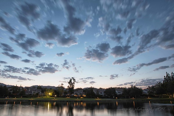 September 1 - Good Morning September! I'm thankful to have gotten out early this morning to beat the heat!<br /> <br /> #CY365 - Take a Hike/Walk<br /> Rancho Santa Margarita Lake