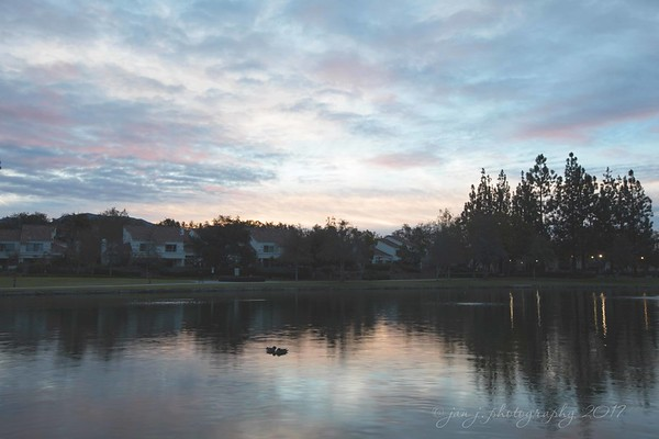 February 3 - I'm thankful for the beginning of each new day...<br /> <br /> Rancho Santa Margarita Lake<br /> Rancho Santa Margarita, CA
