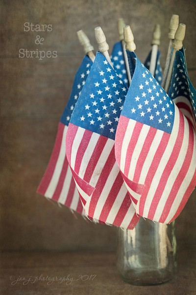 June 14 - I'm thankful for what this flag stands for...<br /> <br /> #CY365 - Flag Day/Stars & Stripes