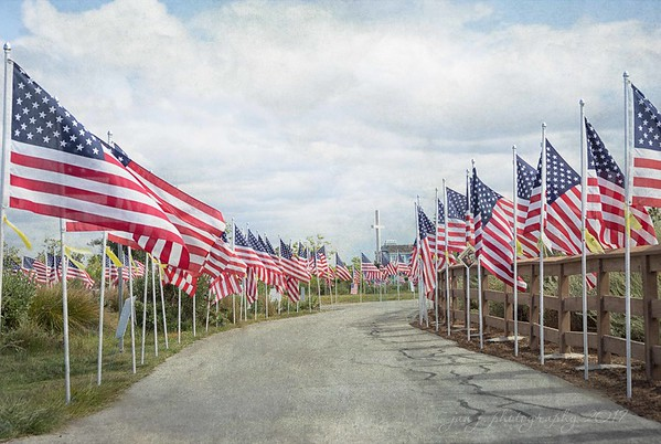 "May 28 - ""God bless America, Land that I love, Stand beside her and guide her, Thru the night with a light from above""<br /> I'm thankful for my freedom... <br /> <br /> #CY365 - Graduated<br /> <br /> Field of Honor<br /> Castaway Park<br /> Newport Beach, CA"