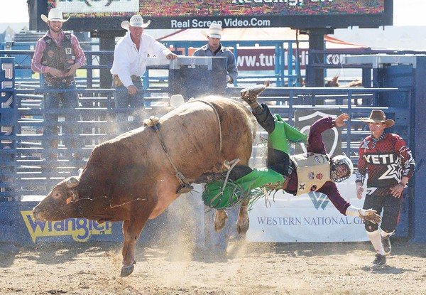 August 28 - Sometimes things happen in life that kind of throw you for a loop...I'm thankful for a faith that keeps me grounded during those times of uncertainty.<br /> <br /> #CY365 - Unaware/By Surprise<br /> Rancho Mission Viejo Rodeo