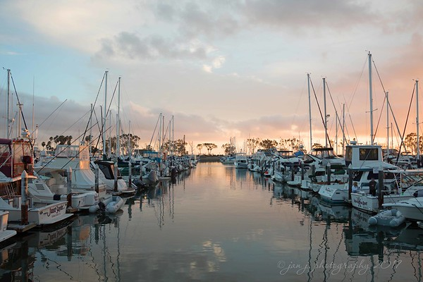 January 22 - I'm thankful for the calm before the storm...<br /> <br /> <br /> #CY365 - Explore<br /> Dana Point Harbor, CA