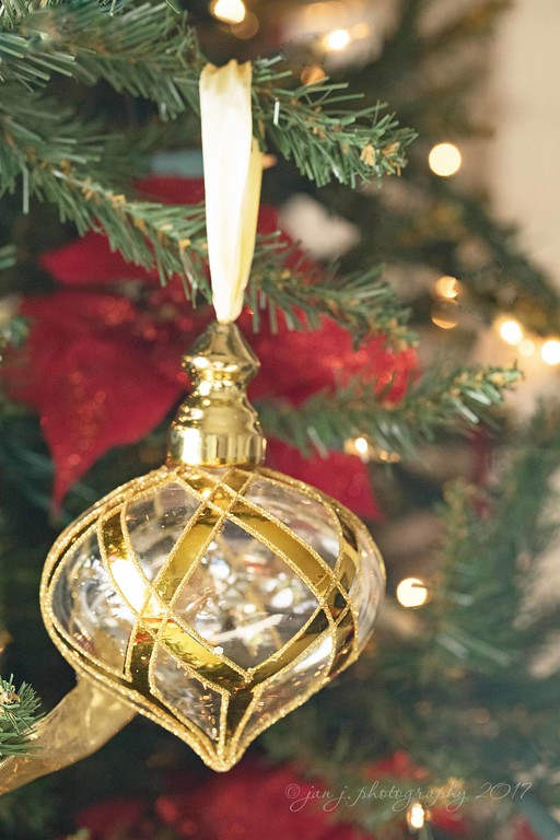 December 4 - Silver and gold decorations on every Christmas tree... I'm thankful for His goodness to me.  #CY365 - Hung with Care