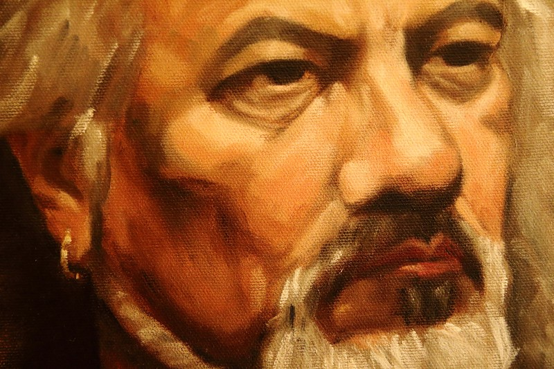 Day 66 - Portrait of Armando (Detail)