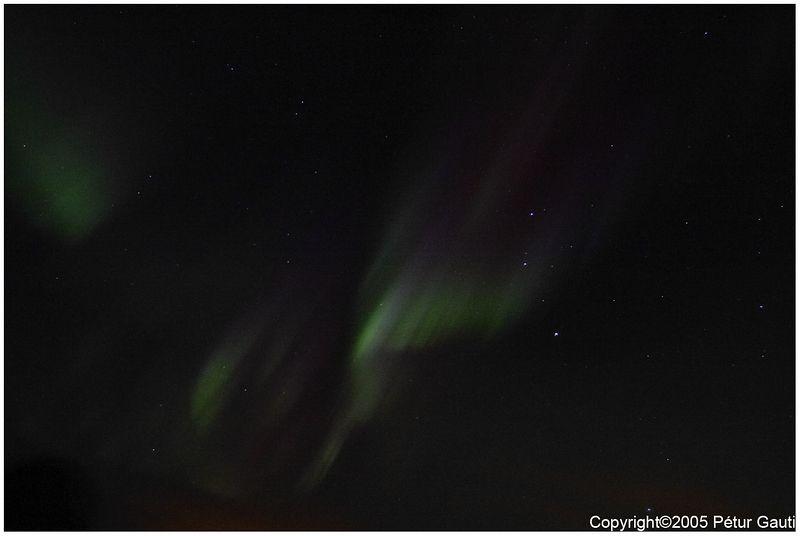 January 7th. Northern lights.