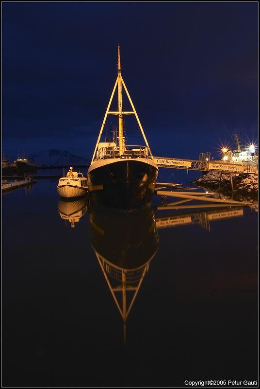 January 22nd. Calm day in Reykjavík harbour.