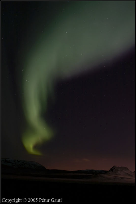 Nov. 24. Northern lights