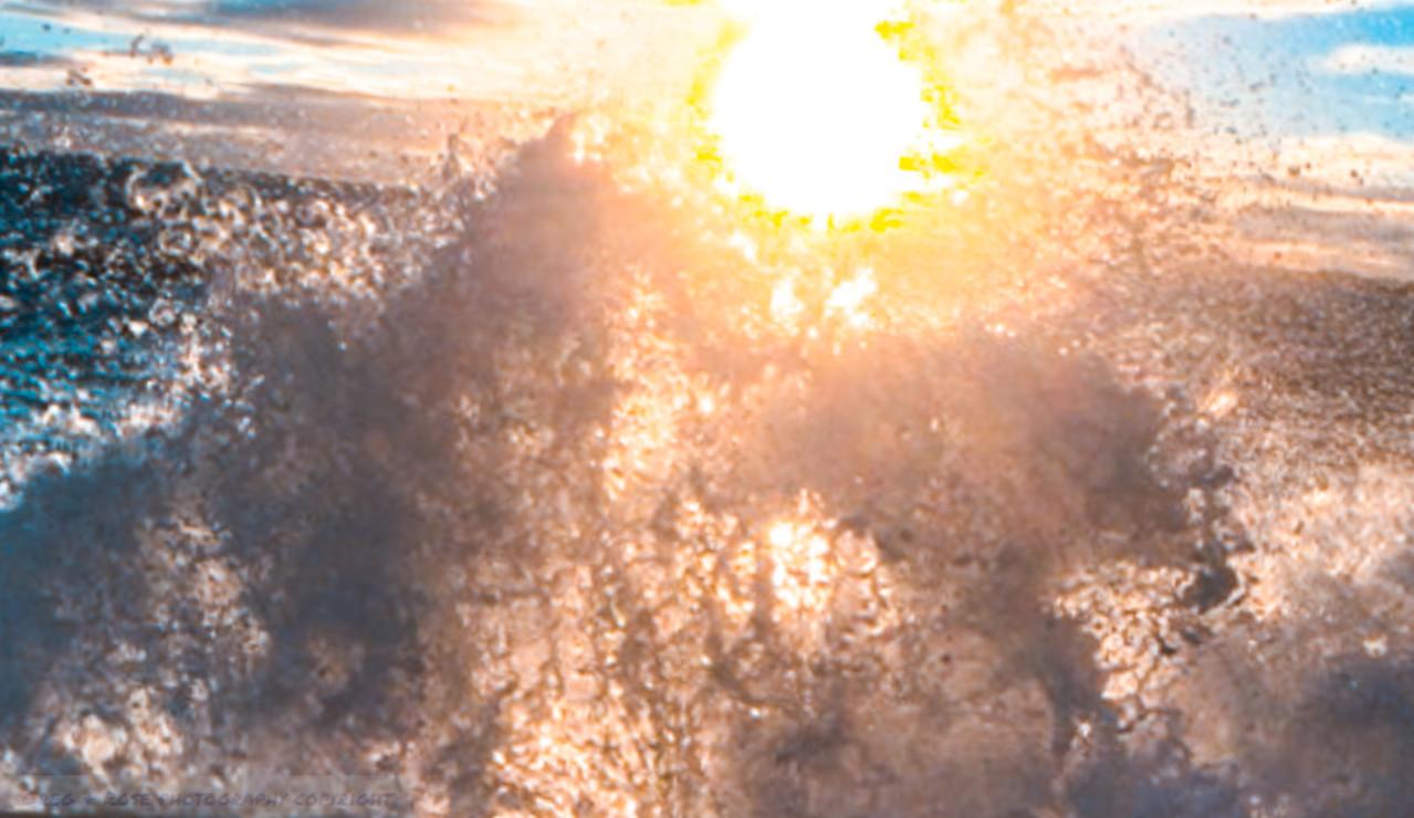 Shrouded sun
