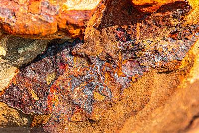Iron  and Sandstone