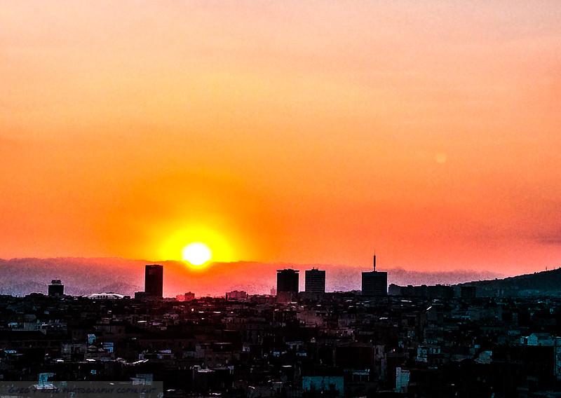 Goodbye Barcelona Sun