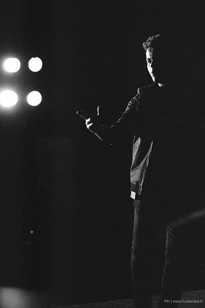 Sebastien Lorca sur scène en argentique 35mm sur pellicule Agfa APX 100