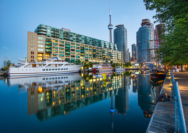 Toronto Harbor Reflection