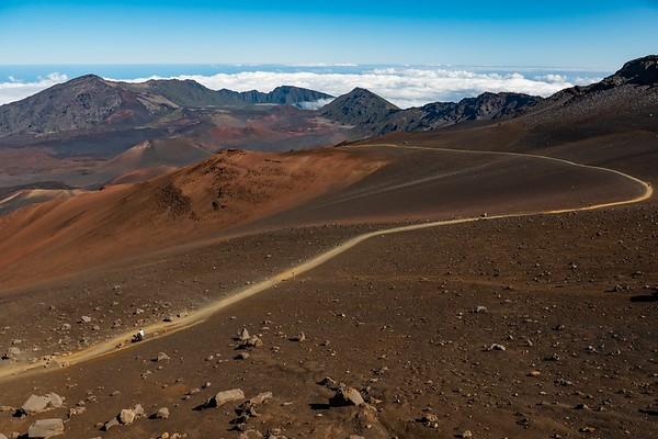 Hiking on Mars