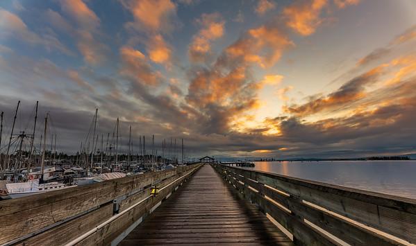 Comox Harbour Walkway