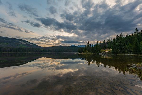 Pyramid Lake Reflection