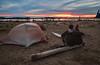 Cribs Creek Camping Sunset