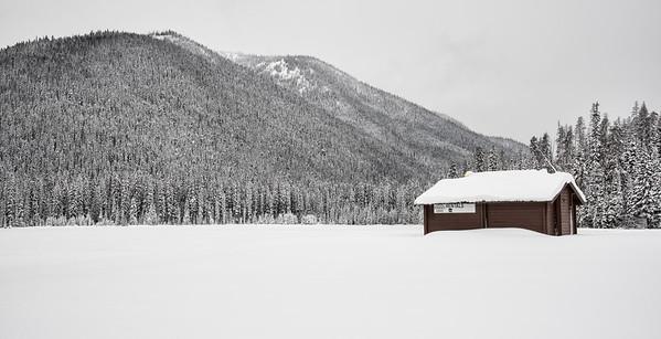 Lightning Lake in Winter