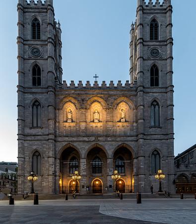 Basilique Notre Dame De Montreal