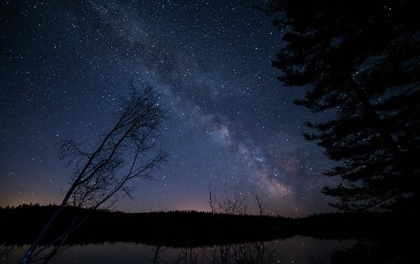 Campsite Milky Way View