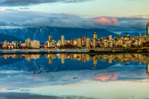 Downtown Vancouver Reflection