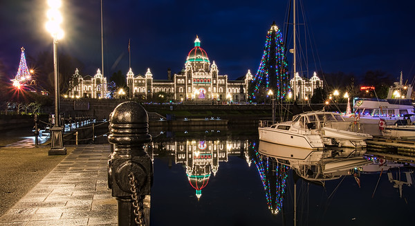 Victoria Harbour Christmas Eve