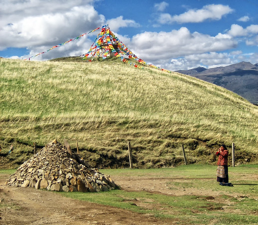 Praying Tibetan