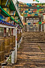 Tibetan Temple Entrance