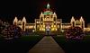BC Parliament Christmas Lights