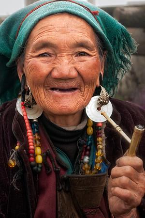 Old Tibetan Woman