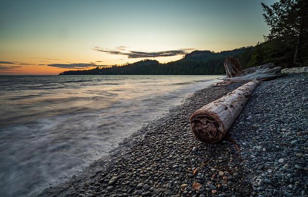 French Beach Log