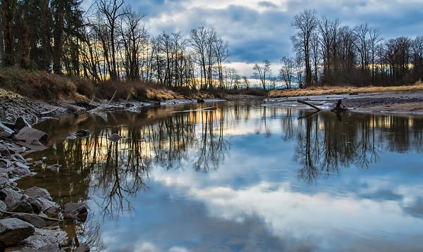 Kanata creek Reflection