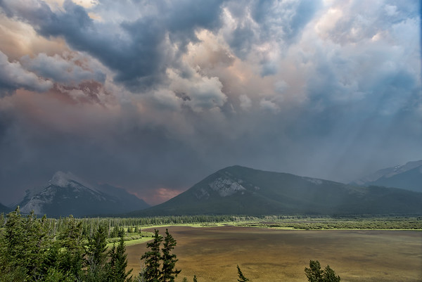 Smoky Vermilion Lakes