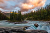 Sunwapta Falls in Jasper