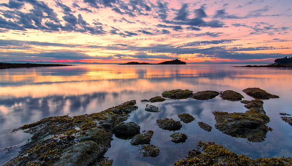 Galiano Island Pink Sunrise