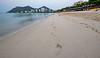 Sanya Beach Footsteps