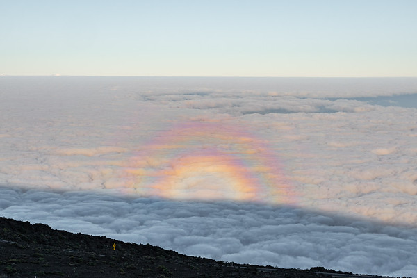 Rainbow Above the Clouds