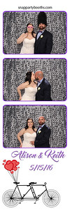 Alison & Keith Foster Wedding