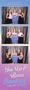 Jenny, Becca & Liv's Sweet 16 Party 2017