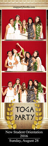 2016 UPenn New Student Orientation Toga Party