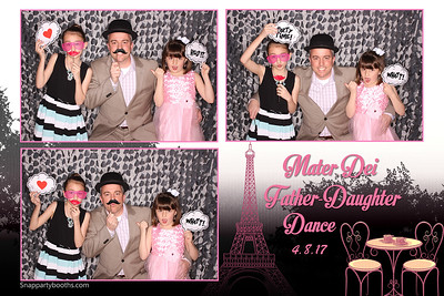 Mater Dei Father-Daughter Dance 2017