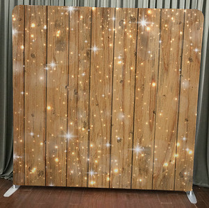 Sparkles on Wood