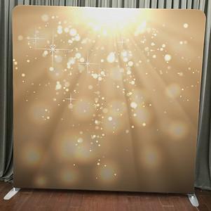 Gold Light Bokeh