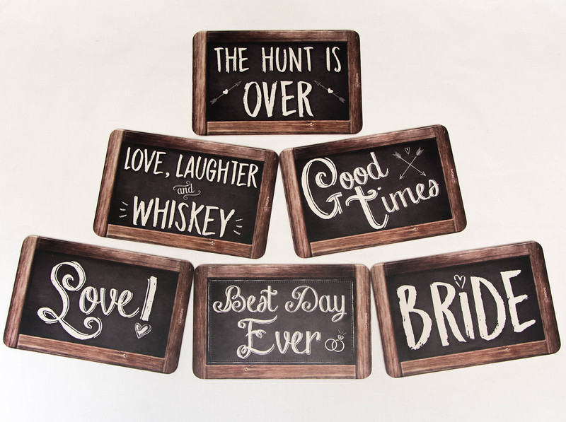 Wedding Signs Rustic