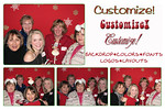 Completely Customizable photo booth, every rental can be customized for your wedding or event.