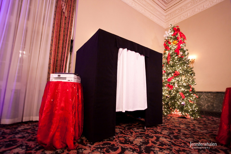 The photo booth at the Twin Cities Networking Group's 2010 Holiday party!  Thanks Jennifer Whalen for the great photograph.
