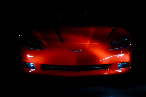 Corvette Light Painting